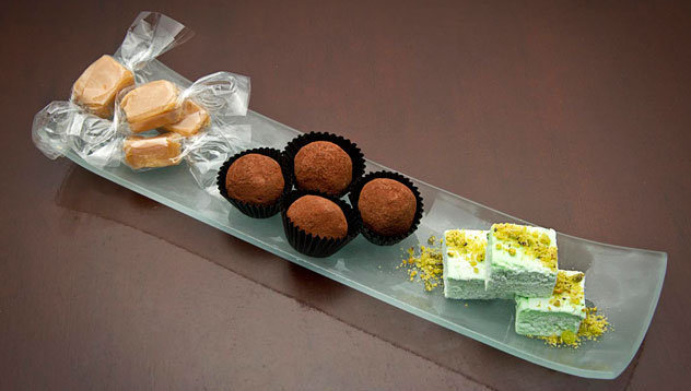 Bonbons at The Grazing Room. Photo courtesy of the restaurant.