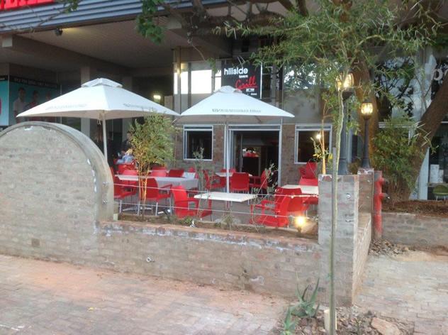 Outside at the Hillside Tavern. Photo courtesy of the restaurant.