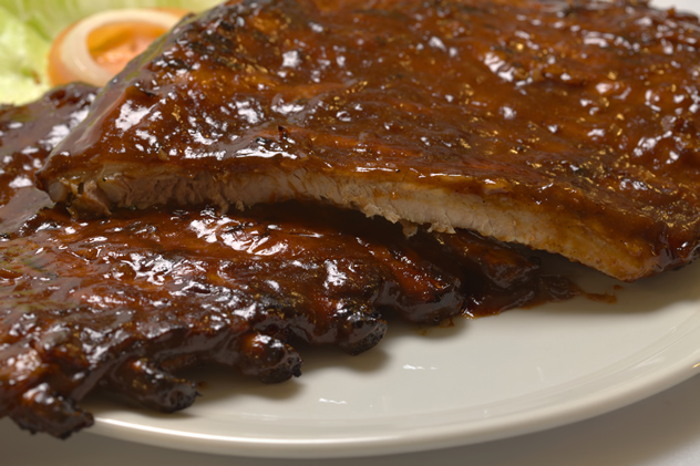Ribs at Pirates Steakhouse and Grill. Photo courtesy of the restaurant.