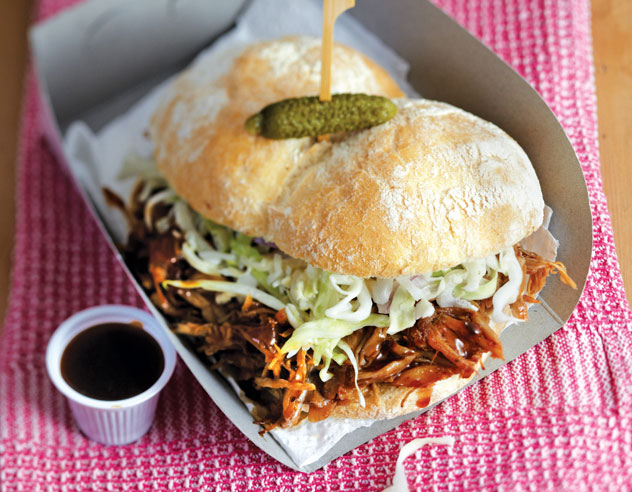 Pulled pork sandwiches from 'Make Give Sell'