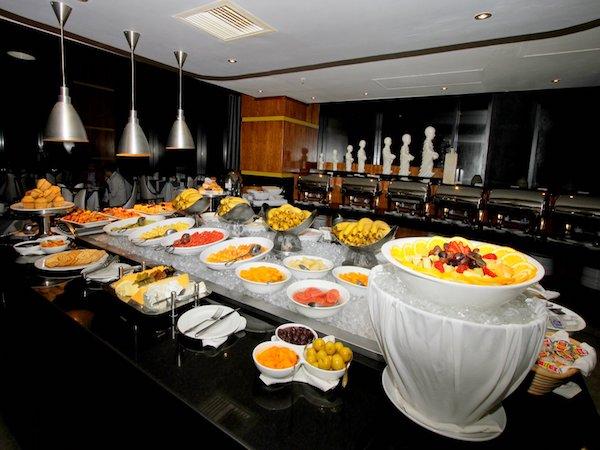 Saffron Hotel Restaurant Menu