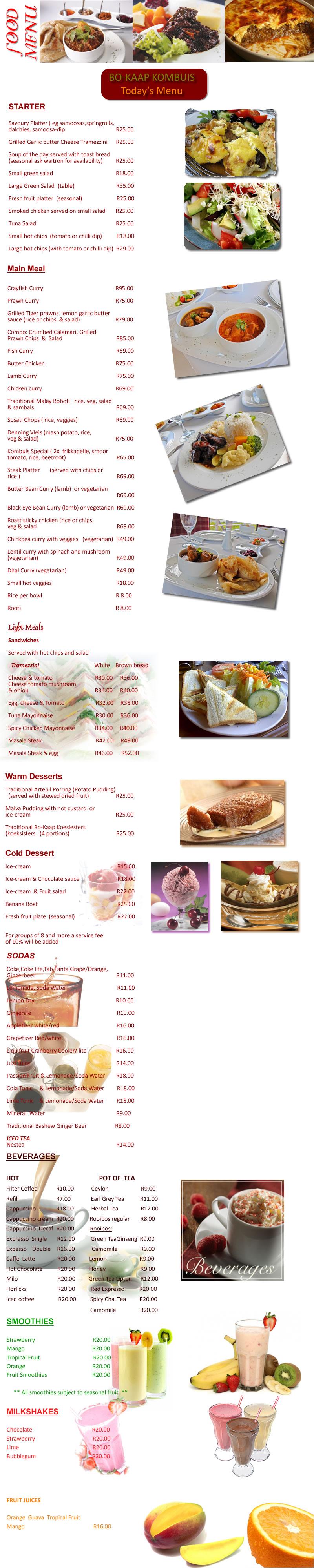 Bo-Kaap Kombuis - Restaurant in Cape Town - EatOut