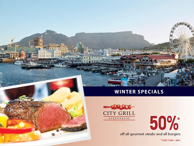 Winter special available at City Grill