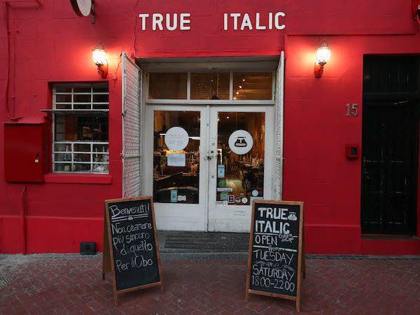 True Italic Rustic Restaurant