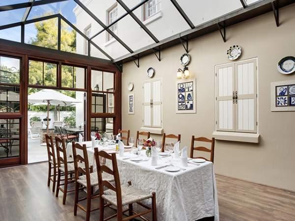 Interior at Helena's Restaurant