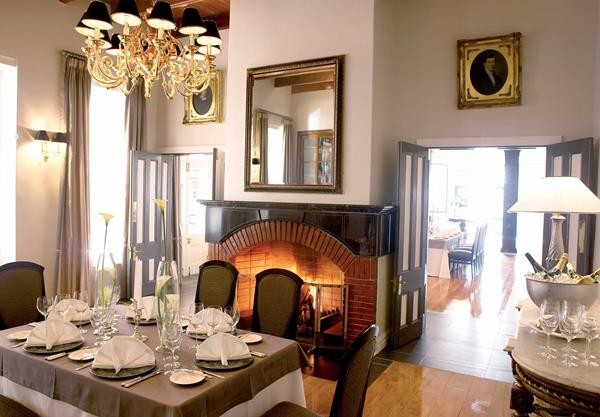 Bosman's Restaurant at Grande Roche Hotel. Photo supplied.
