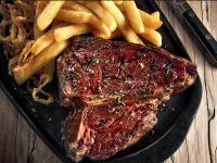 Turn 'n Tender steak and chips
