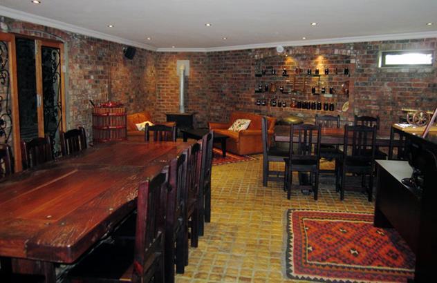 The interior at