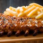 Spur ribs and chips