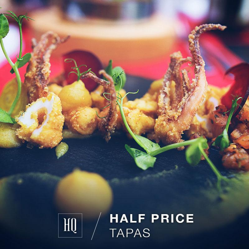 half price tapas at HQ