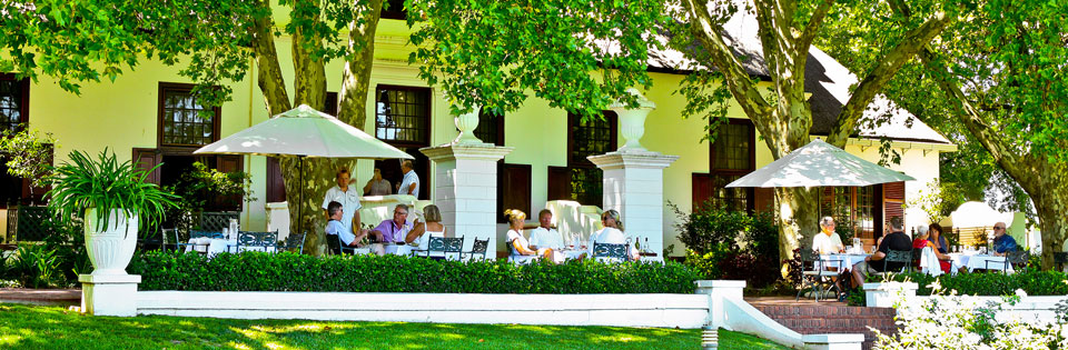 Outside at The Red Table at Nederburg