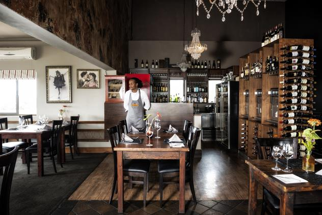The interior at De Kloof. Photo courtesy of the restaurant.