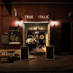 outside at True Italic