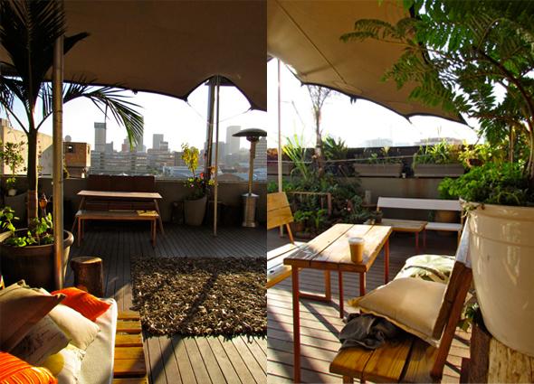 Living room restaurant in johannesburg eatout for Living room maboneng