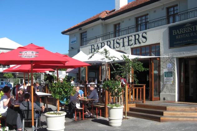 Barristers Grill. Photo courtesy of the restaurant.