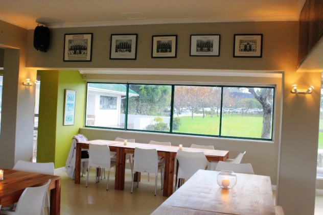 The Clubhouse at Claremont Cricket Club. Photo courtesy of the restaurant.