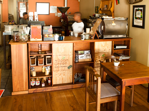 The Bean Green Coffee Roastery