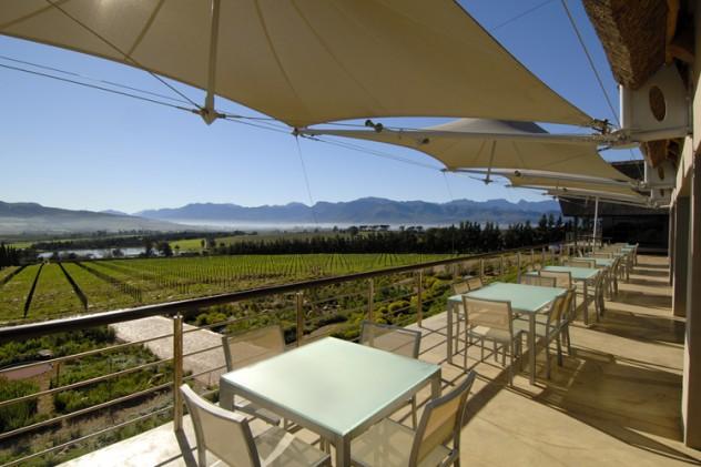 Restaurant @ Glen Carlou. Photo courtesy of the restaurant.