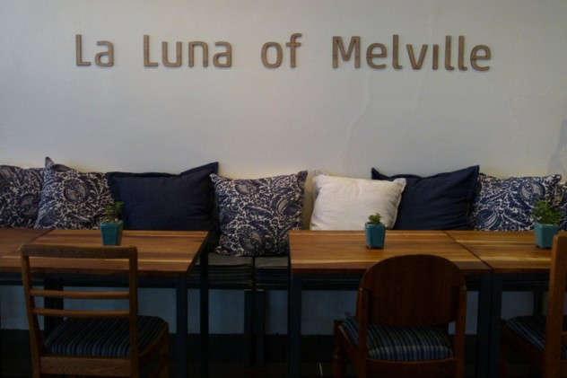 The interior at La Luna of Melville. Photo courtesy of the restaurant.