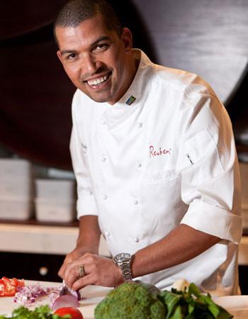 Chef Reuben Riffel. Photo supplied.