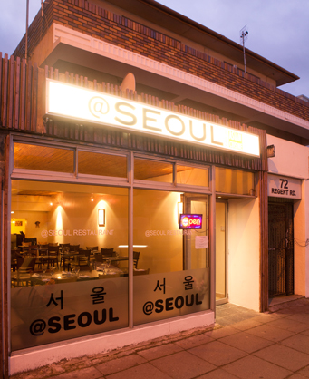 outside at @Seoul Restaurant