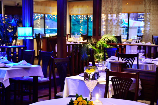 The interior at Geet. Photo courtesy of the restaurant.