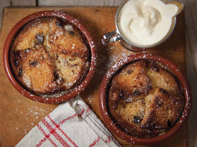 Marlene van der Westhuizen's bread and butter pudding