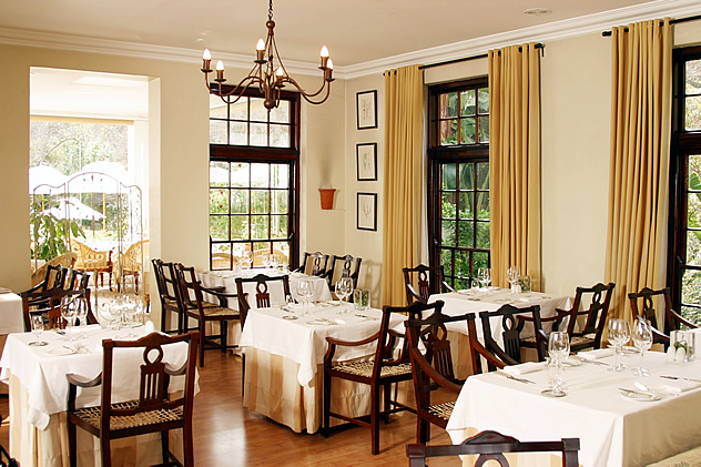 The Conservatory at Cellars-Hohenort in Cape Town