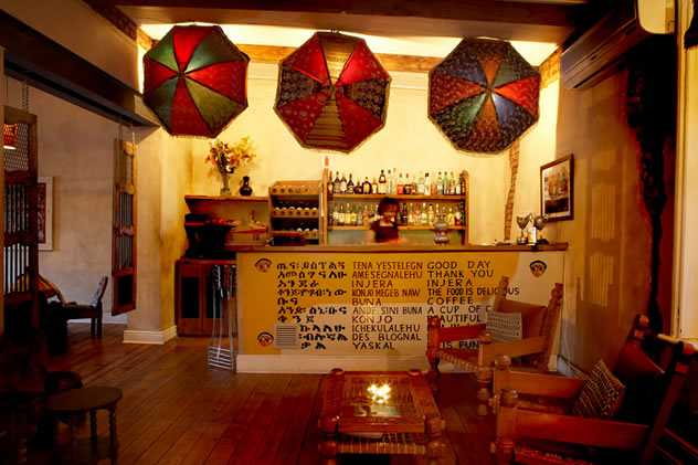 The interior at Addis in Cape. Photo courtesy of the restaurant.