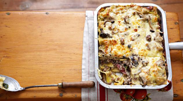 Gordon Wright's lasagne