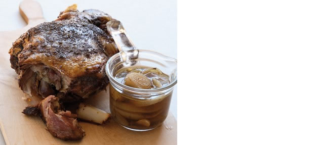 Greek-style roast lamb