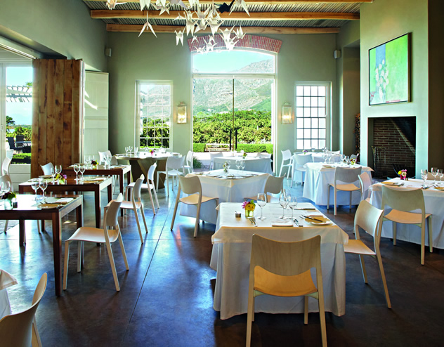 Catharina's at Steenberg. Photo courtesy of the restaurant.