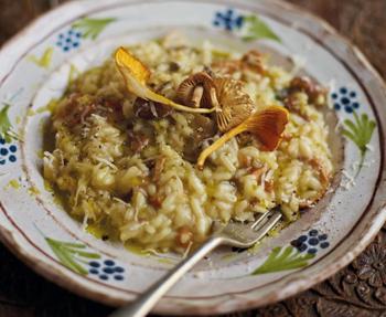 Antonio Carluccio's mushroom risotto