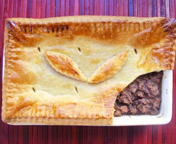 Ilse van der Merwe's springbok pie