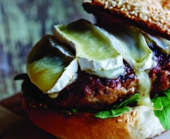 Alida Ryder's pork and apple burgers