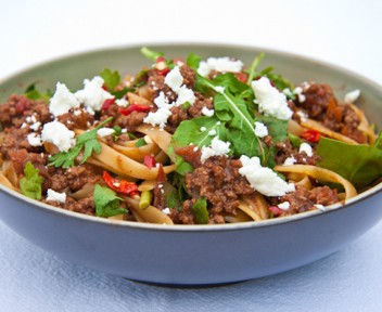 Summery Spaghetti Bolognaise by Simply Delicious