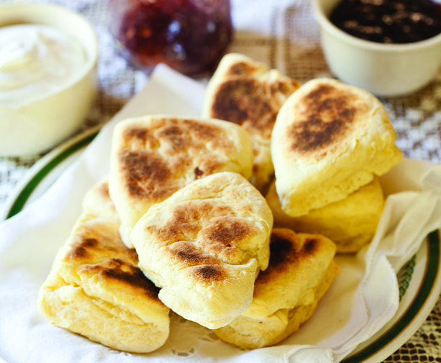 Mrs Martin's griddle scones