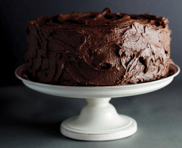 Homemade Chocolate Cake Peanut Butter Frosting: 45 Chocolate Recipes To Dive Into
