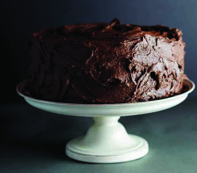Alida Ryder's peanut butter chocolate cake