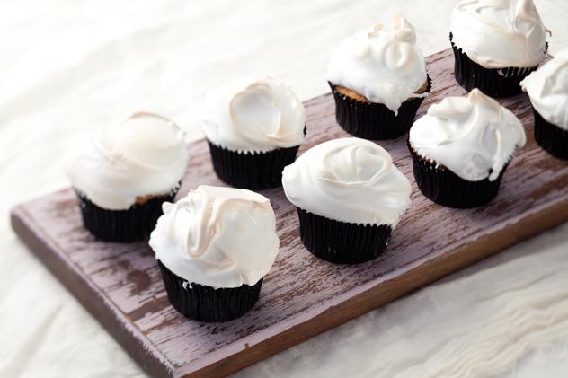 Cara Brink's lemon meringue cupcakes