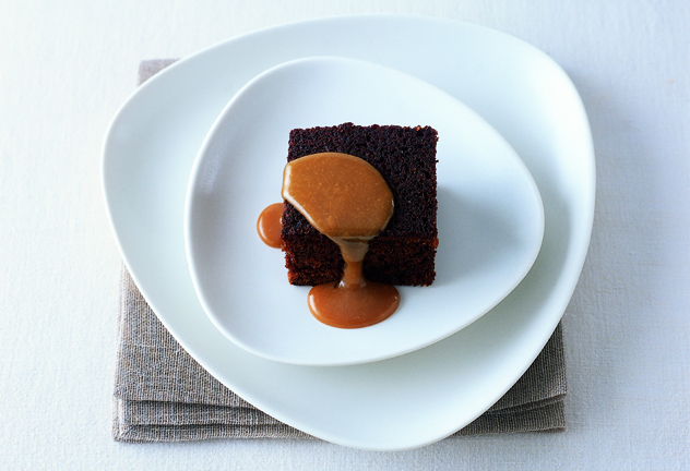 James Martin's sticky toffee pudding