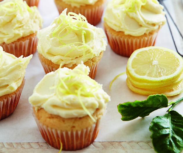 Sue-Ann Allen and Ilse Fourie's lemon cupcakes
