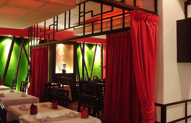 The Red Chamber_red curtains