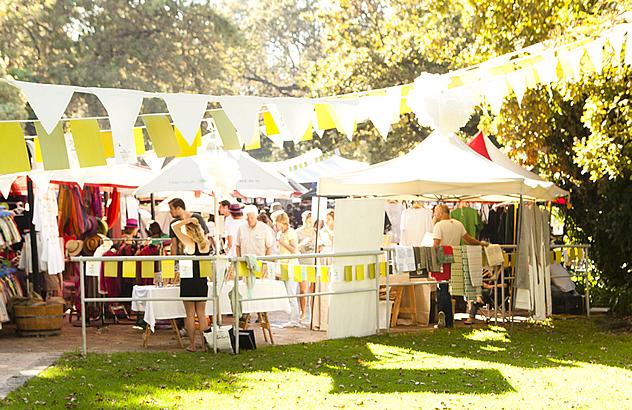 The 2014 Eat Out Zonnebloem Produce Awards event at Stellenbosch Slowmarket