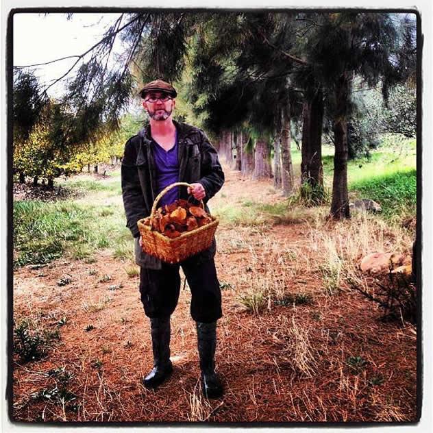 Chef Chris Erasmus of Foliage. Photograph courtesy of Chef Chris Erasmus
