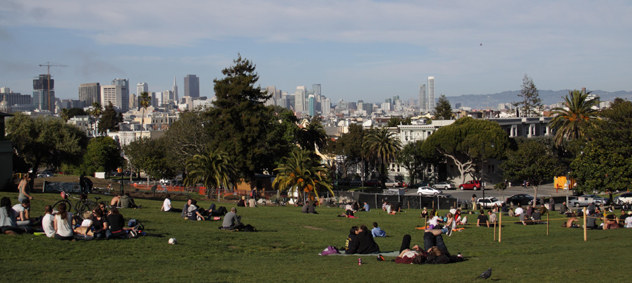 Dolores Park in Mission, San Francisco
