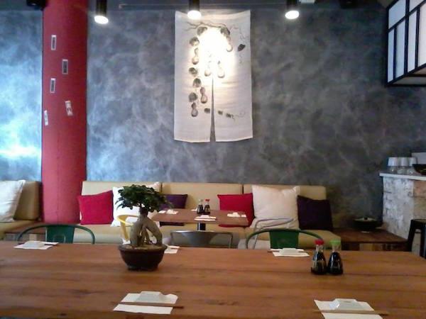 inside at Izakaya Matsuri