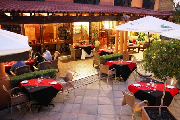The verandah at Le-Si