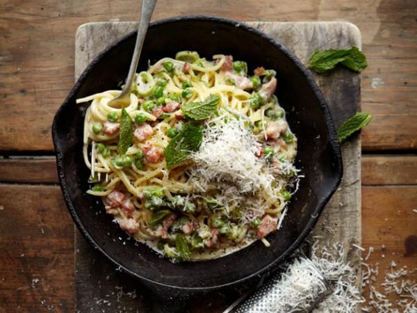 Pasta at Col'Cacchio. Photo courtesy of chain.