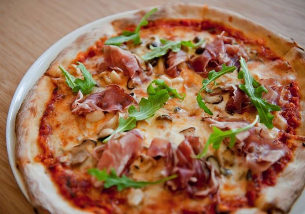 Pizza at The Millhouse Kitchen. Photo courtesy of the restaurant.